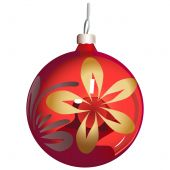 Christmas-tree Ornament Sphere