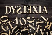 stock photo of dyslexia  -