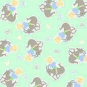 foto of capricorn  - Horoscope capricorn background vector graphic illustration design art - JPG
