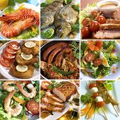 picture of wieners  - Food Collage - JPG