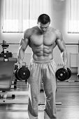 picture of exercise  - Dumbbell exercises - JPG
