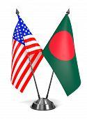 stock photo of bangladesh  - USA and Bangladesh  - JPG