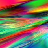 stock photo of shimmer  - A digitally created shimmering silk rainbow colored texture - JPG
