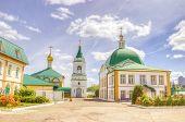 pic of trinity  - Holy Trinity monastery Cheboksary Russia summer landmark religion - JPG