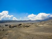 pic of bromo  - View at Mount Bromo at Java in Indonesia - JPG