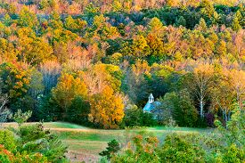 image of cade  - Autumn sunset view of Cade - JPG