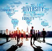 stock photo of population  - Diversity Community Population Business People Concept - JPG