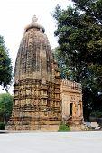 picture of khajuraho  - View of Adinath Jain Temple under Eastern Group of Temples in Khajuraho Madhya Pradesh India Asia - JPG