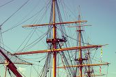 picture of mast  - A ship - JPG