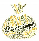stock photo of ringgit  - Malaysian Ringgit Meaning Exchange Rate And Foreign - JPG