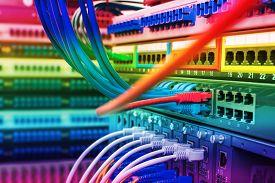 foto of telecommunications equipment  - Information Technology Computer Network - JPG