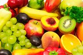 image of food truck  - fruits and vegetables - JPG