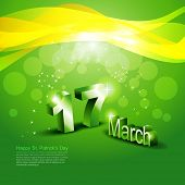 picture of st patrick  - vector cultural st patricks day design - JPG