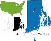 State of Rhode Island, USA