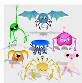 picture of lien  - set of aliens - JPG