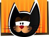 Постер, плакат: Смешные кошки Векторные иллюстрации