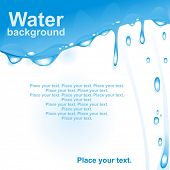 stock photo of drinking water  - Water drops - JPG