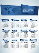 image of august calendar  - Calendar for 2012 vector - JPG
