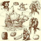 pic of brig  - nautical collection - JPG