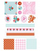 image of cameos  - Design Elements for scrap booking - JPG