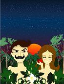 picture of adam eve  - Adam And Eve - JPG
