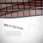 film vector background