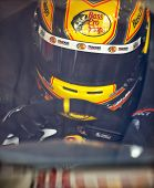 INDIANPOLIS, IN - JUL 28, 2012:  Jamie McMurray (1) and crew prepare their car for a practice sessio