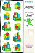 picture of spatial  - Educational math puzzle - JPG