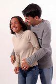 Happy Loving Couple poster