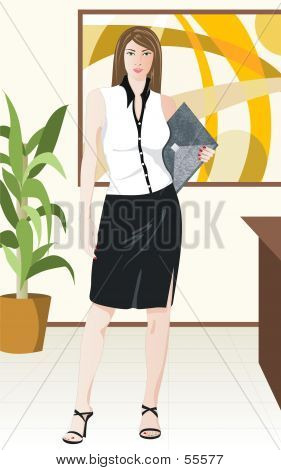 Business Girl poster