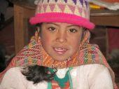 Peruvian girl pic.