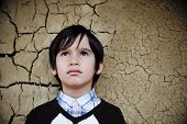 stock photo of attitude boy  - Portrait of an young boy - JPG