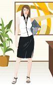 Business Girl poster