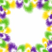 image of tuesday  - Vector illustration of Feather background for Fat Tuesday - JPG