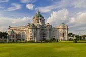 foto of throne  - Ananta Samakhom Throne Hall In Dusit Palace - JPG