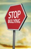 stock photo of stop bully  - Creative sign with the message  - JPG