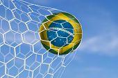 pic of netball  - Amazing Brazilian Goal - JPG