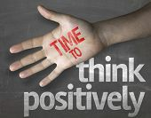 stock photo of positive negative  - Creative composition with the message  - JPG
