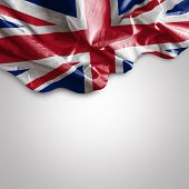 foto of democracy  - Waving flag of Uk  - JPG