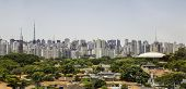 stock photo of obelisk  - Amazing Sao Paulo Skyline - JPG