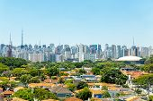 picture of obelisk  - Amazing Sao Paulo Skyline - JPG