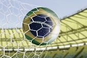 picture of brasilia  - Amazing Goal with Brazilian soccer ball - JPG