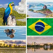 stock photo of carnival brazil  - Set with some images of Brazil - JPG