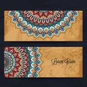picture of ottoman  - Set business card - JPG