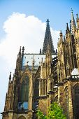 picture of koln  - Cologne Cathedral wich is a Roman Catholic church in Cologne - JPG