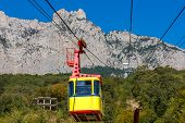 pic of ropeway  - Ropeway to the top of Ai - JPG