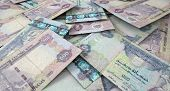 foto of dirhams  - A macro close - JPG