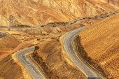 picture of jammu kashmir  - Aerial view of Zigzag road  - JPG