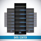 image of mainframe  - data center graphic design  - JPG