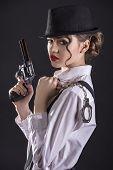 image of gangster  - Beautiful and dangerous - JPG